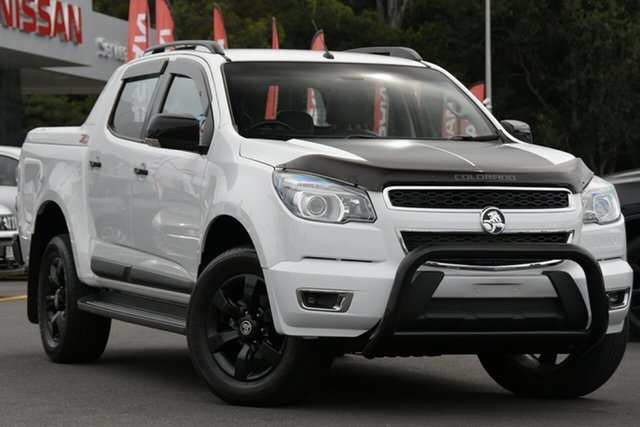 Used Holden Colorado RG MY16 Z71 Crew Cab Aspley, 2015 Holden Colorado RG MY16 Z71 Crew Cab White 6 Speed Manual Utility