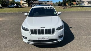 2020 Jeep Cherokee KL MY21 S-Limited Bright White 9 Speed Sports Automatic Wagon.