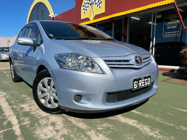 Used Toyota Corolla ZRE152R MY11 Ascent Toowoomba, 2010 Toyota Corolla ZRE152R MY11 Ascent 4 Speed Automatic Hatchback