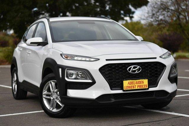 Used Hyundai Kona OS MY18 Active 2WD Enfield, 2018 Hyundai Kona OS MY18 Active 2WD White 6 Speed Sports Automatic Wagon