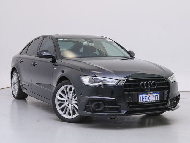 Used Audi A6 4GL MY18 2.0 TDI Black Edition, 2017 Audi A6 4GL MY18 2.0 TDI Black Edition Black 7 Speed Auto Dual Clutch Sedan