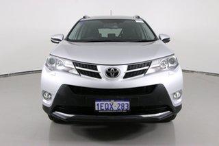 2014 Toyota RAV4 ASA44R Cruiser (4x4) Silver 6 Speed Automatic Wagon.