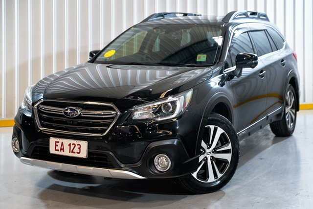Used Subaru Outback B6A MY18 2.5i CVT AWD Premium Hendra, 2018 Subaru Outback B6A MY18 2.5i CVT AWD Premium Black 7 Speed Constant Variable Wagon