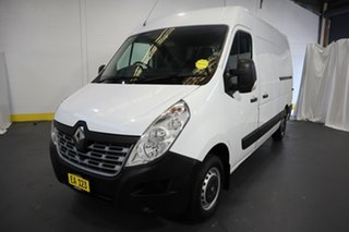 2018 Renault Master X62 MY17 MWB MID White 6 Speed Automated Manual Van
