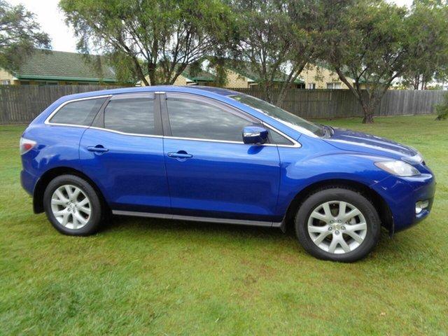 Used Mazda CX-7 ER1031 MY07 Classic Kippa-Ring, 2008 Mazda CX-7 ER1031 MY07 Classic Blue 6 Speed Sports Automatic Wagon