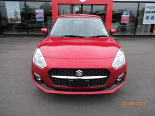 2021 Suzuki Swift AZ Series II GL Navi Burning Red Continuous Variable Hatchback.
