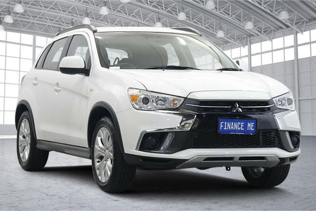Used Mitsubishi ASX XC MY19 ES 2WD Victoria Park, 2019 Mitsubishi ASX XC MY19 ES 2WD White 1 Speed Constant Variable Wagon