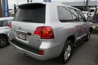 2015 Toyota Landcruiser VDJ200R MY13 Sahara Silver 6 Speed Sports Automatic Wagon.