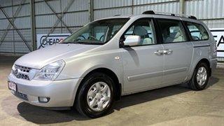 2007 Kia Grand Carnival VQ EX Silver 5 Speed Sports Automatic Wagon