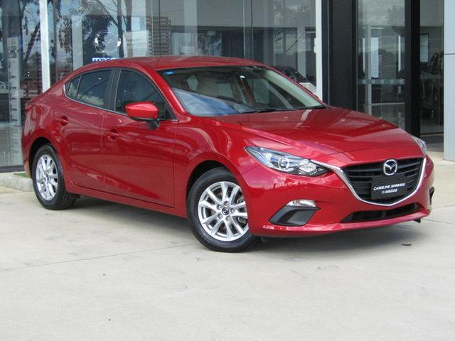 Used Mazda 3 BM5278 Touring SKYACTIV-Drive Ravenhall, 2014 Mazda 3 BM5278 Touring SKYACTIV-Drive Red 6 Speed Sports Automatic Sedan