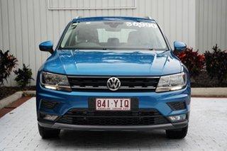 2018 Volkswagen Tiguan 5N MY18 132TSI DSG 4MOTION Comfortline Blue 7 Speed.
