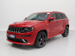 2015 Jeep Grand Cherokee WK MY15 SRT 8 (4x4) Red 8 Speed Automatic Wagon.