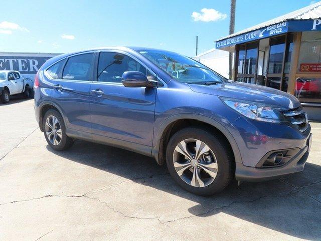 Used Honda CR-V 30 MY15 VTi (4x2) Toowoomba, 2014 Honda CR-V 30 MY15 VTi (4x2) Blue 5 Speed Automatic Wagon