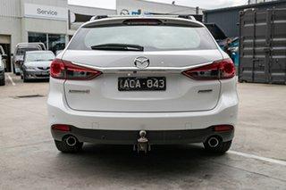 2014 Mazda 6 GJ1021 Touring SKYACTIV-Drive Snowflake White Pearl 6 Speed Sports Automatic Wagon