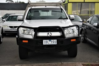 2016 Holden Colorado RG MY17 LS 4x2 Silver 6 Speed Sports Automatic Cab Chassis.
