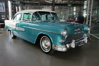 1955 Chevrolet Bel-Air 55 Green 2 Speed Sedan