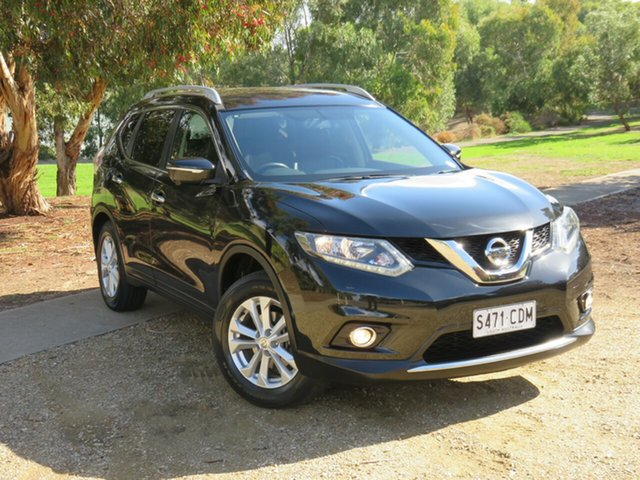 Used Nissan X-Trail T32 ST-L X-tronic 4WD Morphett Vale, 2016 Nissan X-Trail T32 ST-L X-tronic 4WD Black 7 Speed Constant Variable Wagon