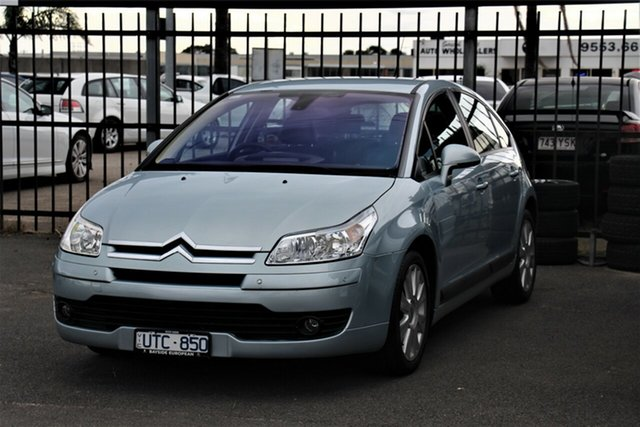 Used Citroen C4 Cheltenham, 2007 Citroen C4 Blue 4 Speed Automatic Hatchback