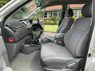 2012 Toyota Hilux KUN26R SR5 Silver 5 Speed Manual Dual Cab