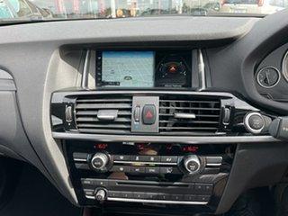 2017 BMW X3 F25 MY17 xDrive 20I Black 8 Speed Automatic Wagon