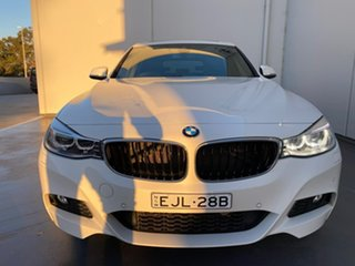 2016 BMW 3 Series F34 320i Gran Turismo M Sport White 8 Speed Sports Automatic Hatchback.