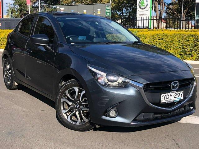 Used Mazda 2 DJ2HAA Genki SKYACTIV-Drive Botany, 2016 Mazda 2 DJ2HAA Genki SKYACTIV-Drive Grey 6 Speed Sports Automatic Hatchback