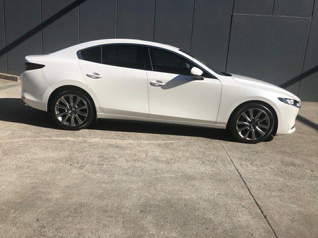 Demo Mazda 3 BP2SHA X20 SKYACTIV-Drive Astina Alexandria, 2020 Mazda 3 BP2SHA X20 SKYACTIV-Drive Astina Snowflake White 6 Speed Sports Automatic Sedan