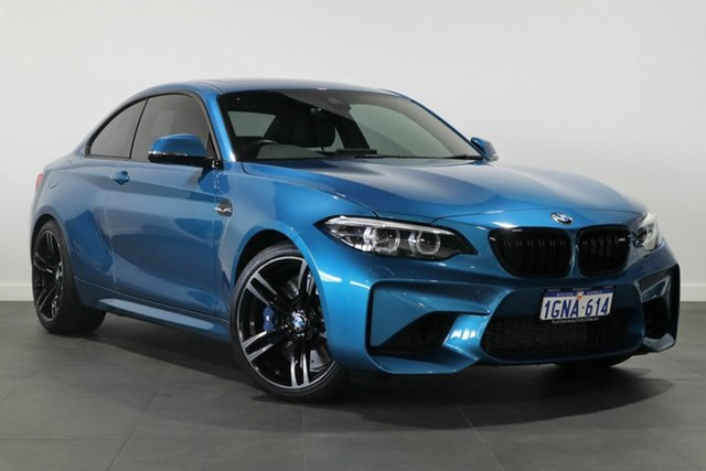Used BMW M2 F87 LCI Pure Bayswater, 2018 BMW M2 F87 LCI Pure Blue 6 Speed Manual Coupe