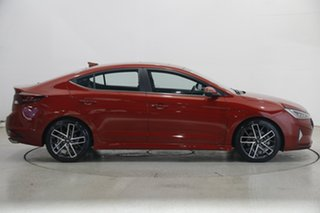 2020 Hyundai Elantra AD.2 MY20 Sport Premium Fiery Red 6 Speed Manual Sedan
