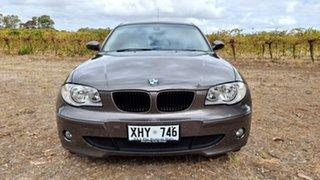 2005 BMW 120i E87 120i Brown 6 Speed Automatic Hatchback.