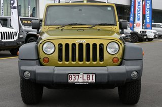 2008 Jeep Wrangler JK Sport Yellow 4 Speed Automatic Softtop