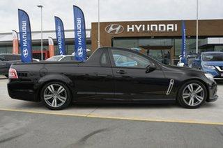 2014 Holden Ute VF MY14 SV6 Ute Black 6 Speed Manual Utility.