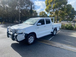 2009 Toyota Hilux KUN26R MY09 SR5 White 5 Speed Manual Utility.