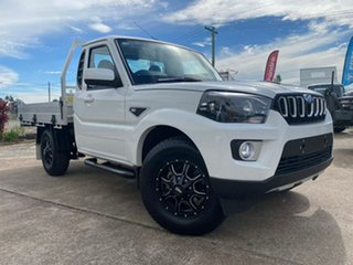 2021 Mahindra Pik-Up MY20 S6+ White 6 Speed Manual Traytop