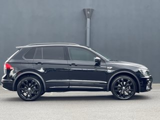 2018 Volkswagen Tiguan 5N MY19 Wolfsburg Edition DSG 4MOTION Black 7 Speed.