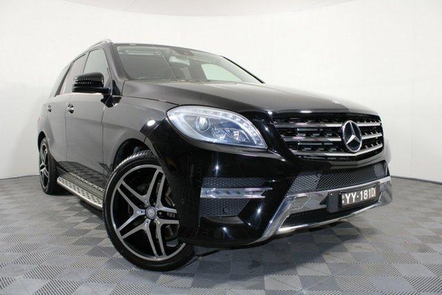 Used Mercedes-Benz M-Class W166 ML250 BlueTEC 7G-Tronic + Wayville, 2013 Mercedes-Benz M-Class W166 ML250 BlueTEC 7G-Tronic + Black 7 Speed Sports Automatic Wagon