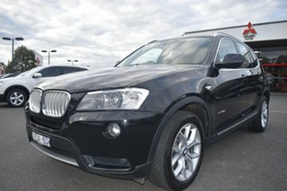2014 BMW X3 F25 MY1213 xDrive30d Steptronic Black 8 Speed Automatic Wagon