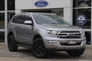 2015 Ford Everest UA Trend Aluminium 6 Speed Sports Automatic SUV.