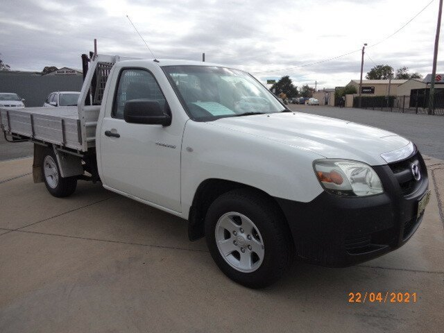 Used Mazda BT-50 B2500 DX Wagga Wagga, 2007 Mazda BT-50 B2500 DX 5 Speed Manual Cab Chassis