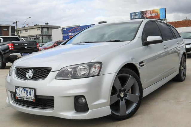 Used Holden Commodore VE II MY12.5 SV6 Sportwagon Z Series Coburg North, 2012 Holden Commodore VE II MY12.5 SV6 Sportwagon Z Series Silver 6 Speed Sports Automatic Wagon