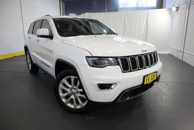 Used Jeep Grand Cherokee WK MY18 Limited Castle Hill, 2017 Jeep Grand Cherokee WK MY18 Limited White 8 Speed Sports Automatic Wagon