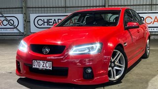 2011 Holden Commodore VE II SV6 Red 6 Speed Manual Sedan.
