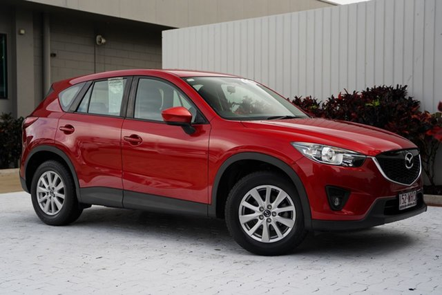Used Mazda CX-5 KE1071 MY14 Maxx SKYACTIV-Drive Sport Cairns, 2014 Mazda CX-5 KE1071 MY14 Maxx SKYACTIV-Drive Sport Red 6 Speed Sports Automatic Wagon