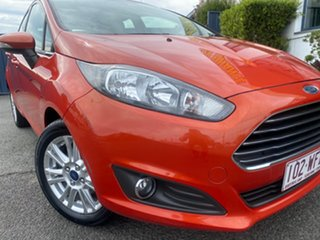 2013 Ford Fiesta WZ Trend Orange 5 Speed Manual Hatchback.