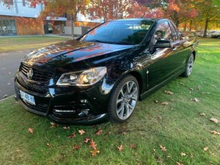 2013 Holden Ute VF MY14 SS V Ute Black 6 Speed Manual Utility.