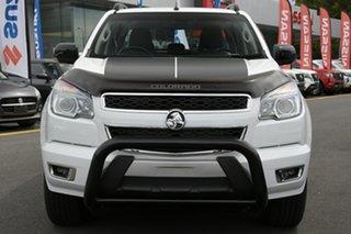 2015 Holden Colorado RG MY16 Z71 Crew Cab White 6 Speed Manual Utility