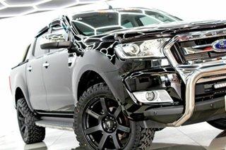 2017 Ford Ranger PX MkII MY18 XLT 3.2 Hi-Rider (4x2) Black 6 Speed Automatic Crew Cab Pickup.