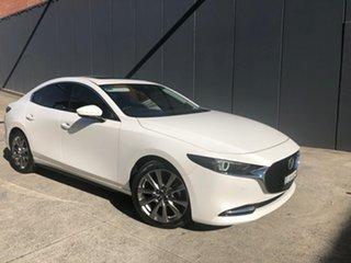 2020 Mazda 3 BP2SHA X20 SKYACTIV-Drive Astina Snowflake White 6 Speed Sports Automatic Sedan