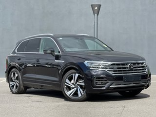 2021 Volkswagen Touareg CR MY21 210TDI Tiptronic 4MOTION R-Line Black 8 Speed Sports Automatic Wagon.