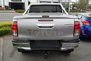 2017 Toyota Hilux GUN126R SR5 Double Cab Silver 6 Speed Manual Utility